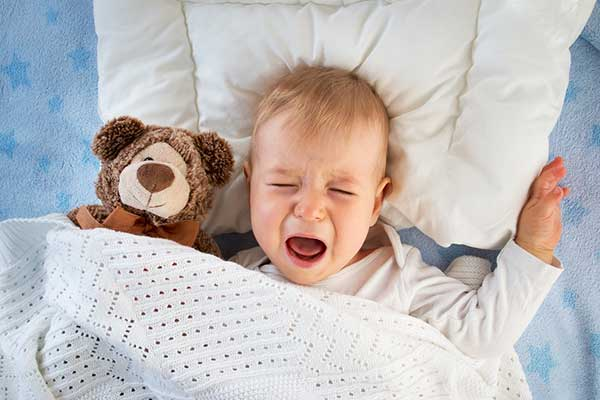 What to do about Night terrors waking up your baby